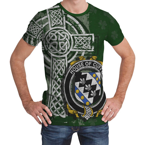 Image of Irish Family, Cuffe Family Crest Unisex T-Shirt | 1st Ireland