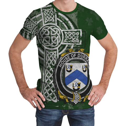 Image of Irish Family, Durrant Family Crest Unisex T-Shirt | 1st Ireland