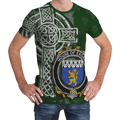 Image of Irish Family, Eagar Family Crest Unisex T-Shirt | 1st Ireland