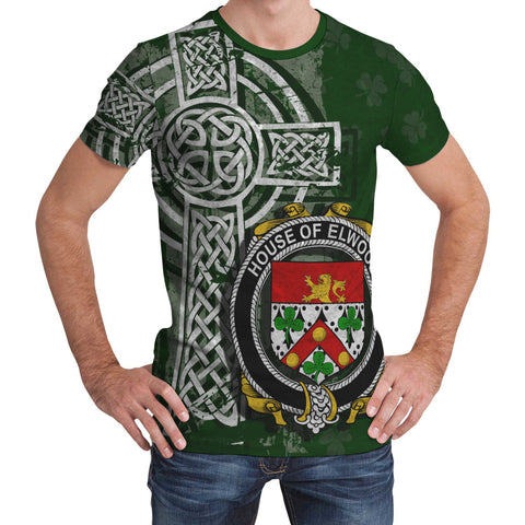 Image of Irish Family, Elwood Family Crest Unisex T-Shirt | 1st Ireland