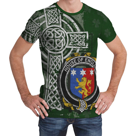Irish Family, English Family Crest Unisex T-Shirt | 1st Ireland