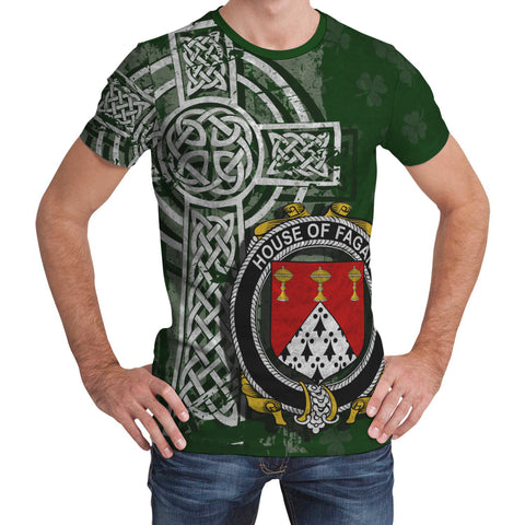 Irish Family, Fagan Family Crest Unisex T-Shirt | 1st Ireland
