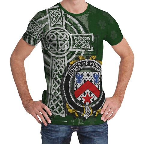 Irish Family, Fownes Family Crest Unisex T-Shirt | 1st Ireland