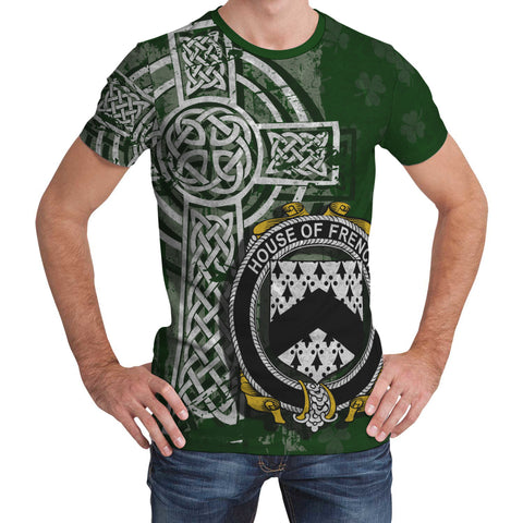 Image of Irish Family, French Family Crest Unisex T-Shirt | 1st Ireland