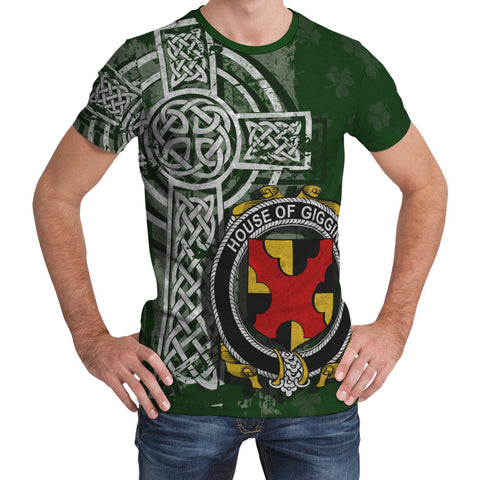 Irish Family, Giggins Family Crest Unisex T-Shirt | 1st Ireland