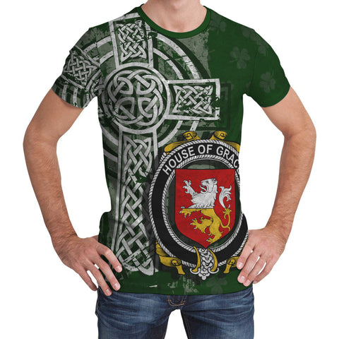 Image of Irish Family, Grace Family Crest Unisex T-Shirt | 1st Ireland