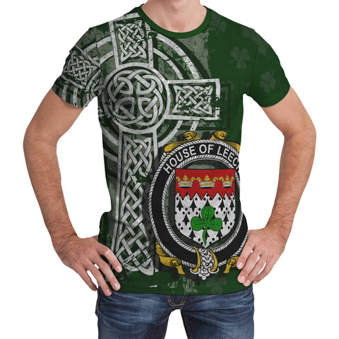 Image of Irish Family, Leech Family Crest Unisex T-Shirt | 1st Ireland