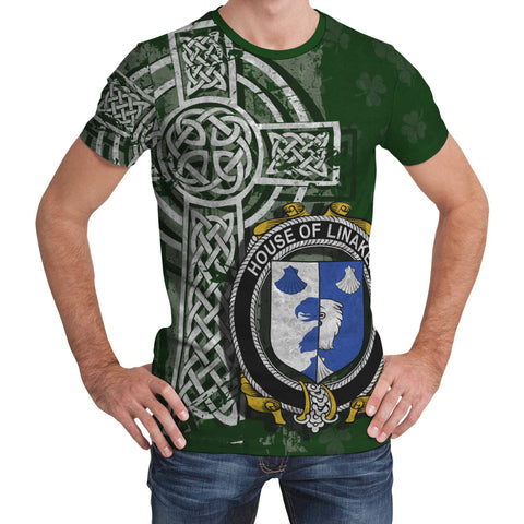 Image of Irish Family, Linaker Family Crest Unisex T-Shirt | 1st Ireland
