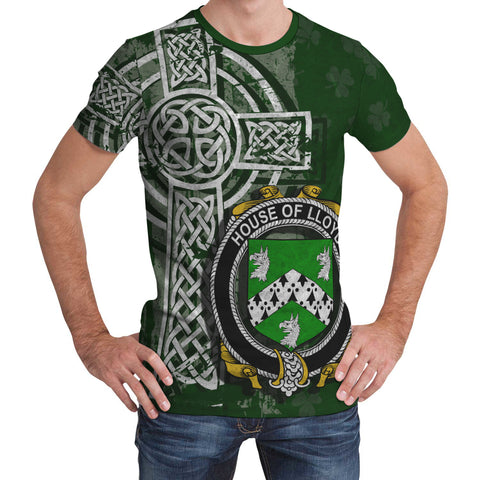 Irish Family, Lloyd Family Crest Unisex T-Shirt | 1st Ireland
