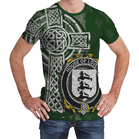 Irish Family, Lovett Family Crest Unisex T-Shirt | 1st Ireland