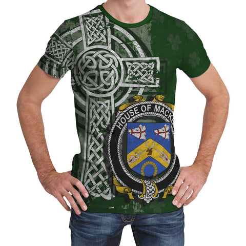 Image of Irish Family, Mackey Family Crest Unisex T-Shirt | 1st Ireland