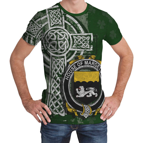 Irish Family, Margetson Family Crest Unisex T-Shirt | 1st Ireland