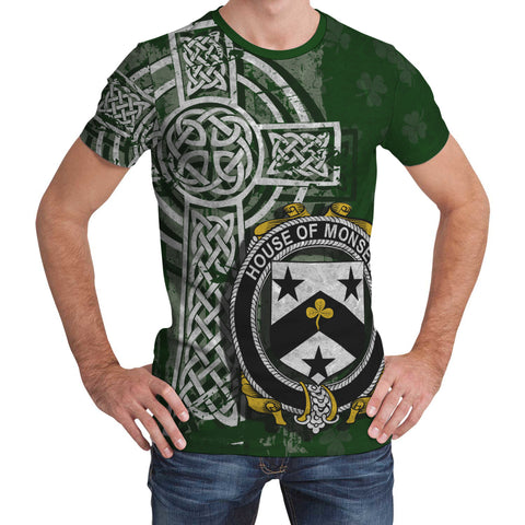 Irish Family, Monsell Family Crest Unisex T-Shirt | 1st Ireland
