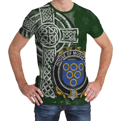 Image of Irish Family, Musgrave Family Crest Unisex T-Shirt | 1st Ireland