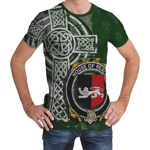 Image of Irish Family, Neale Family Crest Unisex T-Shirt | 1st Ireland
