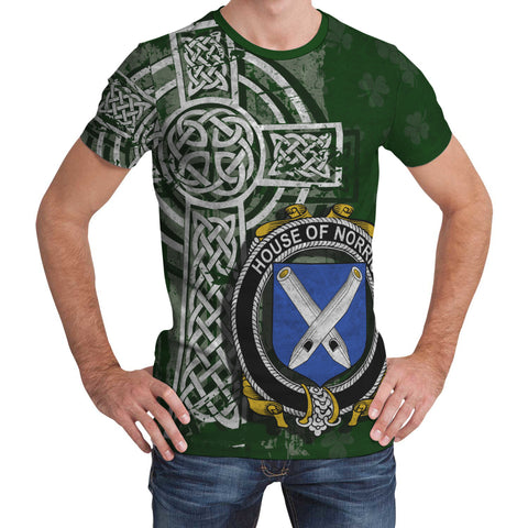 Image of Irish Family, Norris Family Crest Unisex T-Shirt | 1st Ireland