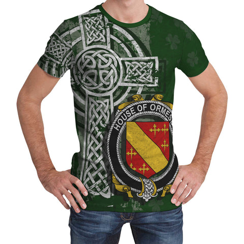 Irish Family, Ormesby Family Crest Unisex T-Shirt | 1st Ireland