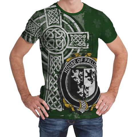Image of Irish Family, Palliser Family Crest Unisex T-Shirt | 1st Ireland