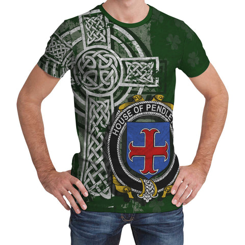 Irish Family, Pendleton Family Crest Unisex T-Shirt | 1st Ireland