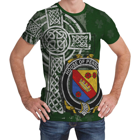 Irish Family, Penrose Family Crest Unisex T-Shirt | 1st Ireland