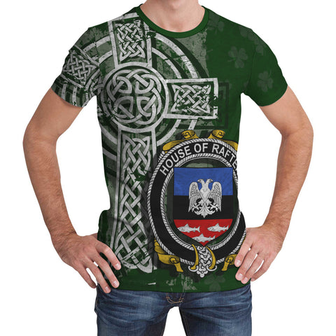 Image of Irish Family, Rafter Family Crest Unisex T-Shirt | 1st Ireland
