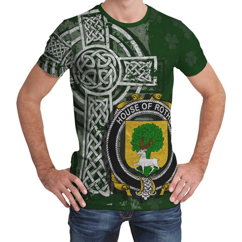 Irish Family, Rothe Family Crest Unisex T-Shirt | 1st Ireland