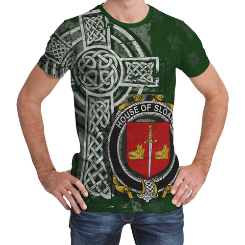 Irish Family, Sloane Family Crest Unisex T-Shirt | 1st Ireland