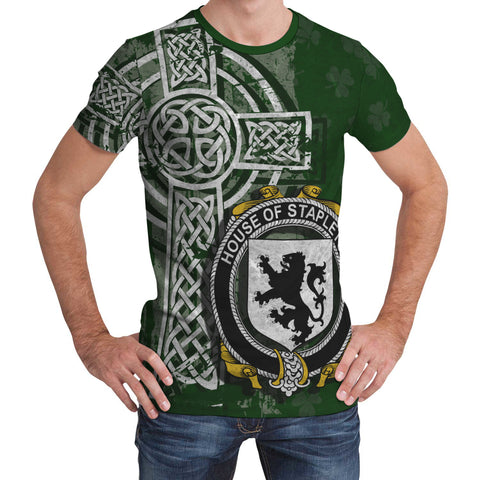 Irish Family, Stapleton Family Crest Unisex T-Shirt | 1st Ireland