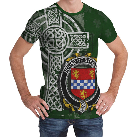 Image of Irish Family, Stewart Family Crest Unisex T-Shirt | 1st Ireland