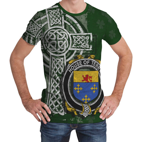 Irish Family, Terry Family Crest Unisex T-Shirt | 1st Ireland