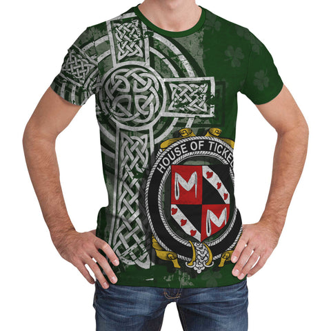 Irish Family, Tickell Family Crest Unisex T-Shirt | 1st Ireland