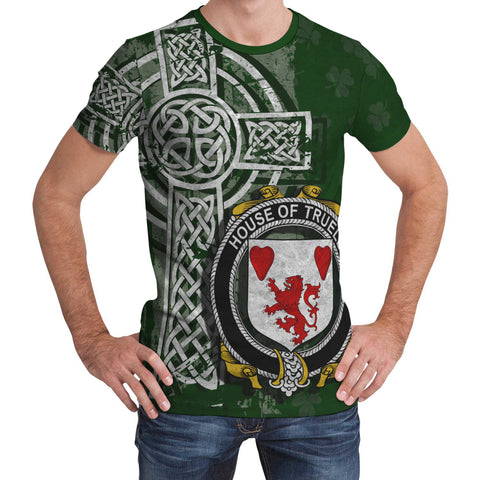 Image of Irish Family, Truell Family Crest Unisex T-Shirt | 1st Ireland