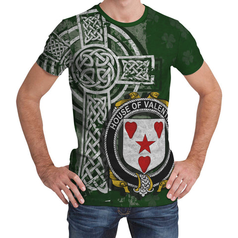 Image of Irish Family, Valentine Family Crest Unisex T-Shirt | 1st Ireland