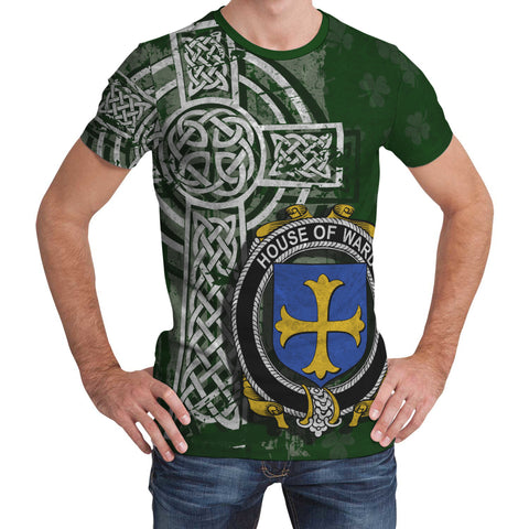 Irish Family, Ward Family Crest Unisex T-Shirt | 1st Ireland