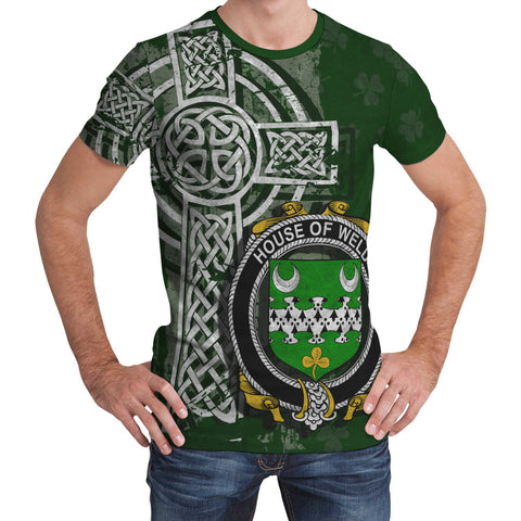 Image of Irish Family, Weld Family Crest Unisex T-Shirt | 1st Ireland