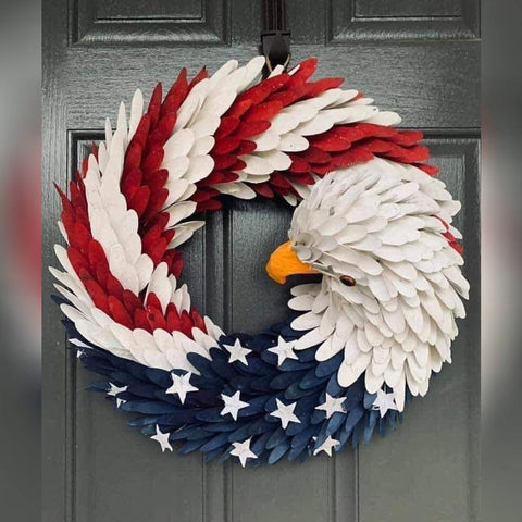 Image of American Eagle Wreath