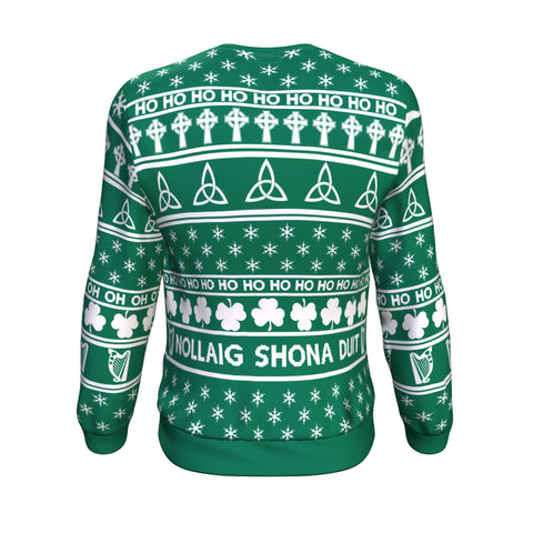Image of Nollaig Shona Duit & Irish Santa™ Sweatshirt