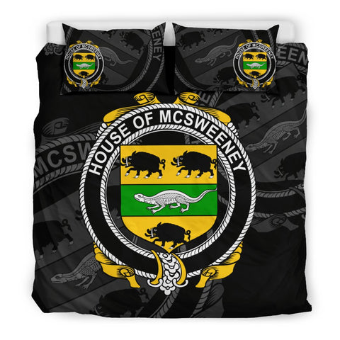 Image of Ireland Bedding Set - Mcsweeney | Over 1400 Irish Surnames | Special Custom Design