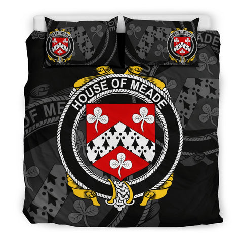 Ireland Bedding Set - Meade | Over 1400 Irish Surnames | Special Custom Design