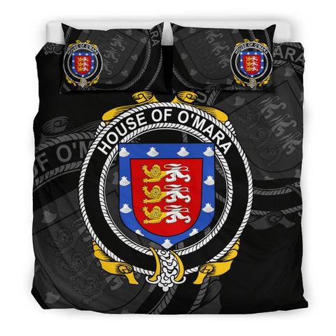 Ireland Bedding Set - Meara Or O'Mara | Over 1400 Irish Surnames | Special Custom Design