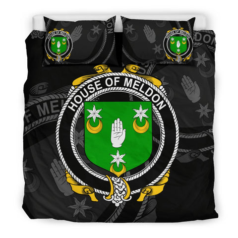 Ireland Bedding Set - Meldon Or Muldoon | Over 1400 Irish Surnames | Special Custom Design