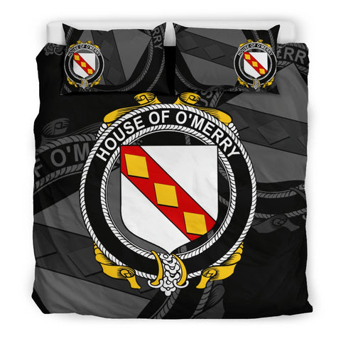 Ireland Bedding Set - Merry Or O'Merry | Over 1400 Irish Surnames | Special Custom Design
