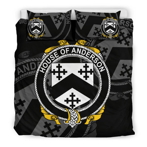 Image of Ireland Bedding Set - Anderson | Over 1400 Irish Surnames | Special Custom Design