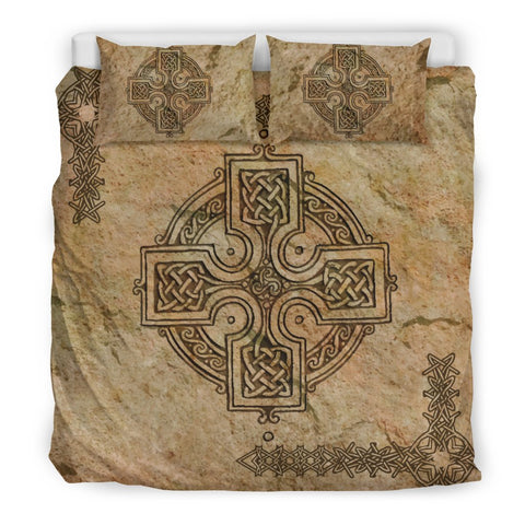 Celtic Bedding Set - Celtic Cross Vintage Pattern