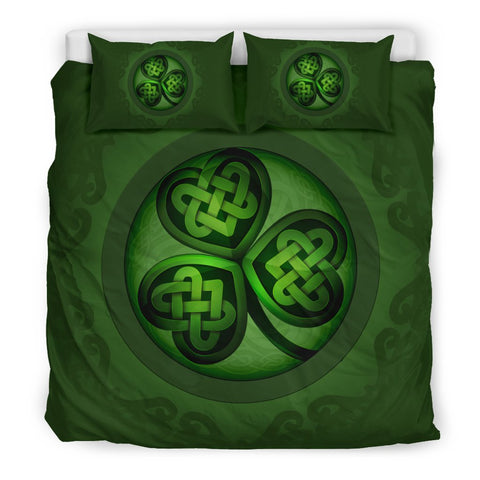 Image of Celtic Bedding Set 01 - Shamrock Luxury Bedding