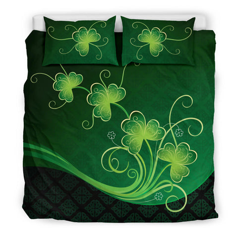 Image of Ireland Bedding Set Shamrocks Floral K4