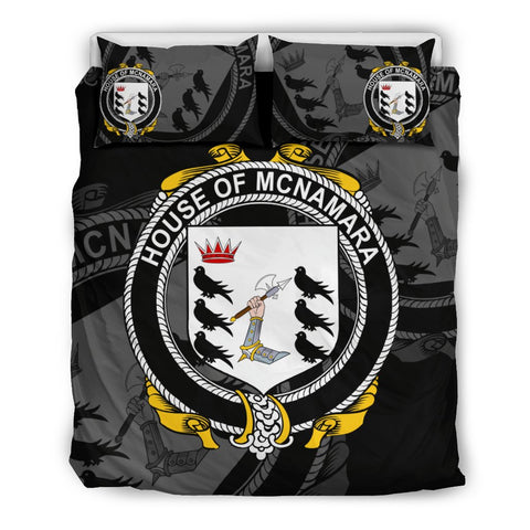 Image of Ireland Bedding Set - Mcnamara | Over 1400 Irish Surnames | Special Custom Design