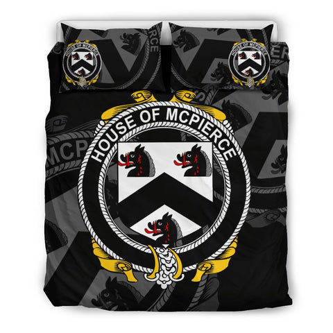 Ireland Bedding Set - Mcpierce Or Pierce | Over 1400 Irish Surnames | Special Custom Design