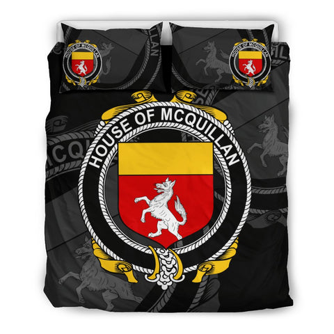 Image of Ireland Bedding Set - Mcquillan | Over 1400 Irish Surnames | Special Custom Design