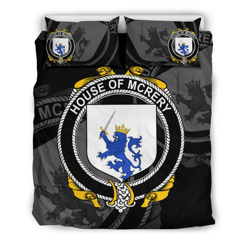 Ireland Bedding Set - Mcrery Or Mccrery | Over 1400 Irish Surnames | Special Custom Design